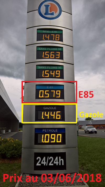 Stations Qui Distribuent Le Superéthanol E85 Kit éthanol